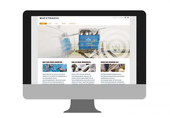 Website Way2Trade | portfolio Studio MK