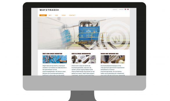 Website Way2Trade | portfolio Studio MK